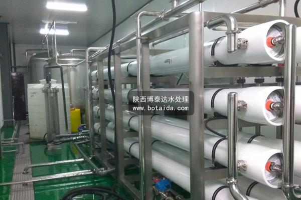 陕西xx桶装纯净水厂水净化设备