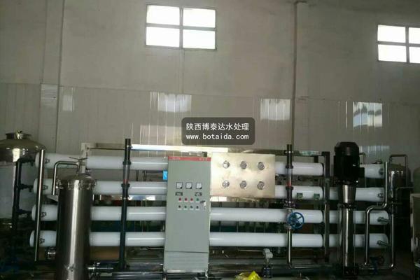 20吨/小时反渗透设备发货及设备现场(新疆)