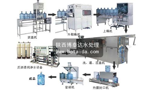 桶装纯净水生产线