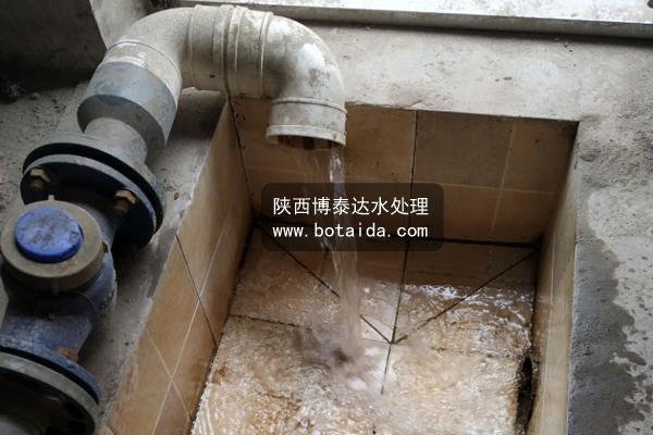 川成都XXX豆制食品公司废水处理设备