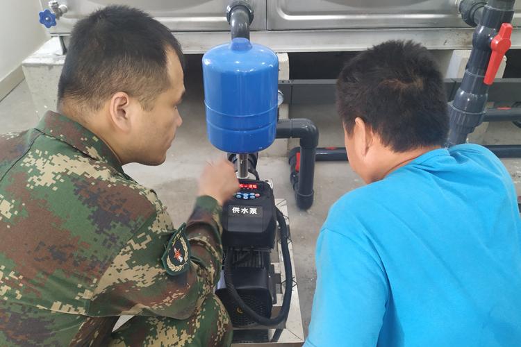 火箭军部队营区生活净化水设备